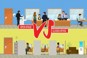 the battle of offices open office vs closed office