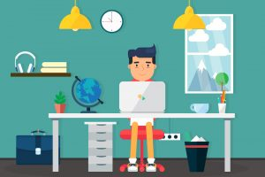 Cheer up That Drab Space With These Bright Office Hacks